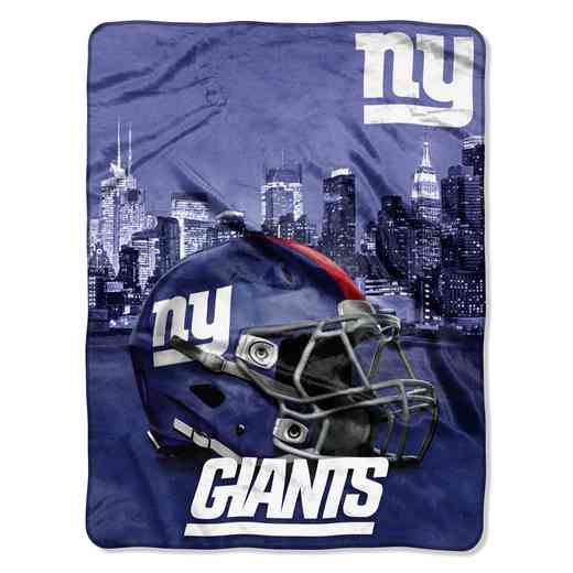 1NFL071030081RET: NW NFL HERITAGE SILK THROW, NY GIANTS